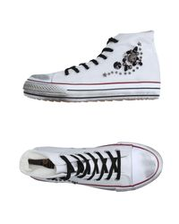Ovye' By Cristina Lucchi - White High-tops & Sneakers - Lyst