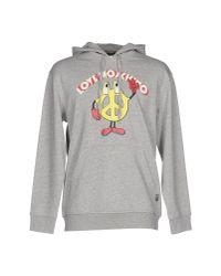 Love Moschino | Gray Sweatshirt for Men | Lyst