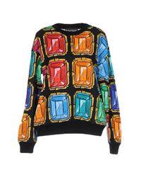 Boutique Moschino - Black Sweatshirt - Lyst