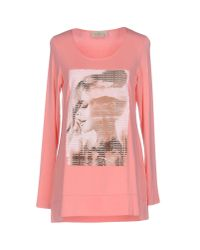 Just For You - Pink T-shirt - Lyst