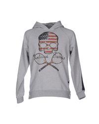 Hydrogen | Gray Sweatshirt for Men | Lyst