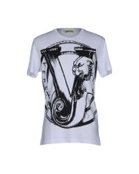 Versace Jeans - White T-shirt for Men - Lyst