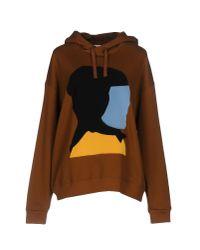 Marni - Brown Sweatshirt - Lyst
