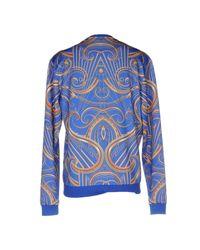 Versace Jeans - Blue Sweatshirt for Men - Lyst