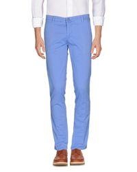Dimattia - Blue Casual Trouser for Men - Lyst