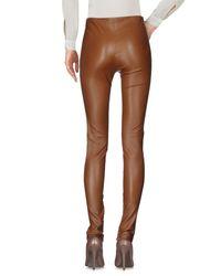 Balenciaga - Brown Casual Pants - Lyst