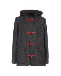 Gloverall - Gray Coat for Men - Lyst