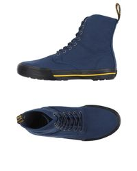 Dr. Martens - Blue High-tops & Sneakers for Men - Lyst