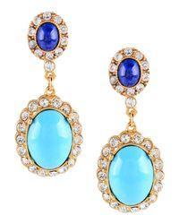Ben-Amun - Blue Earrings - Lyst