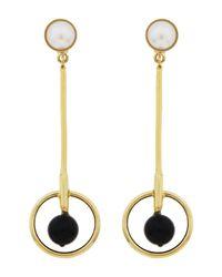 Sharra Pagano - Metallic Earrings - Lyst