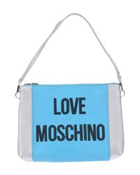 Love Moschino Blue Handbag