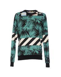 MSGM - Black Sweatshirt for Men - Lyst