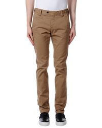 AT.P.CO | Natural Casual Trouser for Men | Lyst