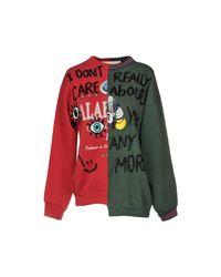 NIGHTMARKET.IT - Red Sweatshirts - Lyst