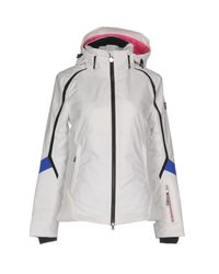 EA7 - White Jacket - Lyst