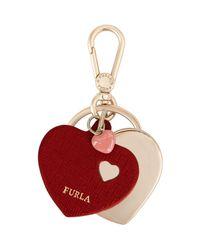 Furla | Red Key Ring | Lyst