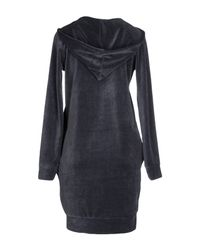 Odi Et Amo - Gray Short Dress - Lyst