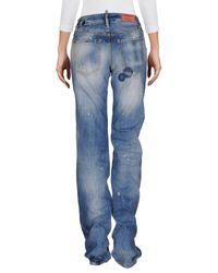 DSquared² Blue Denim Trousers