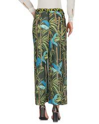 22 Maggio By Maria Grazia Severi - Green Casual Pants - Lyst