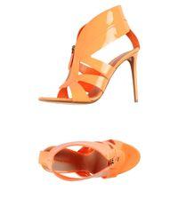 Nicholas Kirkwood Orange Sandals