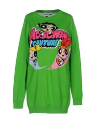 Moschino Couture - Green Jumper - Lyst