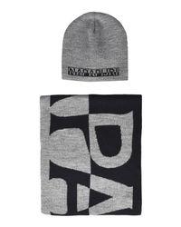 Napapijri - Gray Hat for Men - Lyst