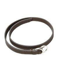 Maison Margiela - Brown Bracelet for Men - Lyst