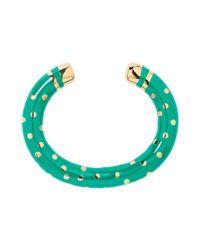 Aurelie Bidermann - Green Bracelet - Lyst