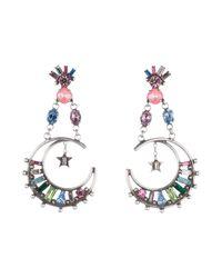 DANNIJO   Metallic Earrings   Lyst