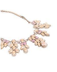 Stefanel - Pink Necklaces - Lyst