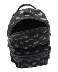 Dolce & Gabbana - Black Rucksacks & Bumbags - Lyst