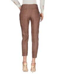 Ivories Brown Casual Pants