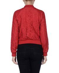 Dolce & Gabbana - Red Jacket - Lyst