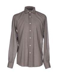 Hamptons - Brown Shirt for Men - Lyst