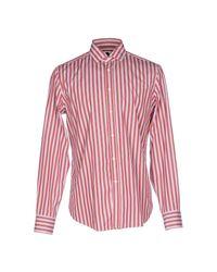 Bagutta - Red Shirt for Men - Lyst