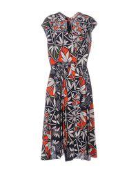 Tory Burch - Blue Knee-length Dress - Lyst