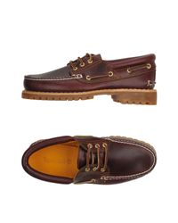 Timberland - Brown Lace-up Shoe for Men - Lyst