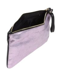 Cuir Rose - Purple Handbags - Lyst