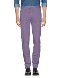 Valentini - Purple Casual Pants for Men - Lyst