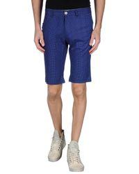 Blend - Blue Bermuda Shorts for Men - Lyst