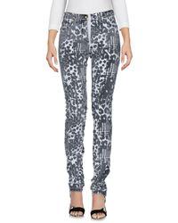 Versace - Multicolor Denim Pants - Lyst