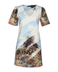 Anonyme Designers Blue Short Dress