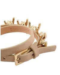 DSquared² - Natural Bracelet - Lyst