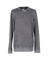 SELECTED - Gray Sweatshirt for Men - Lyst