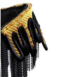 Sveva Collection - Black Necklace - Lyst