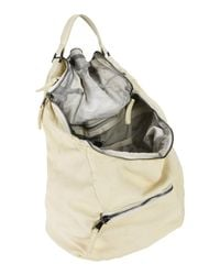 Giorgio Brato White Backpacks & Bum Bags