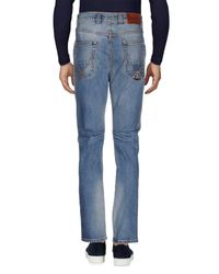 Roy Rogers - Blue Denim Pants for Men - Lyst