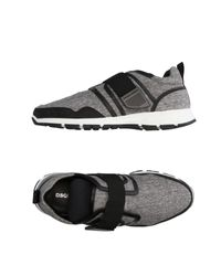 DSquared² - Gray Low-tops & Sneakers for Men - Lyst