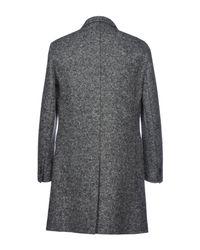Neil Barrett - Gray Coat for Men - Lyst