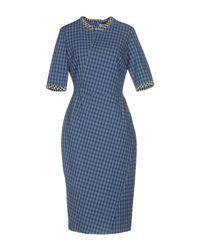 Altuzarra - Blue Knee-length Dress - Lyst